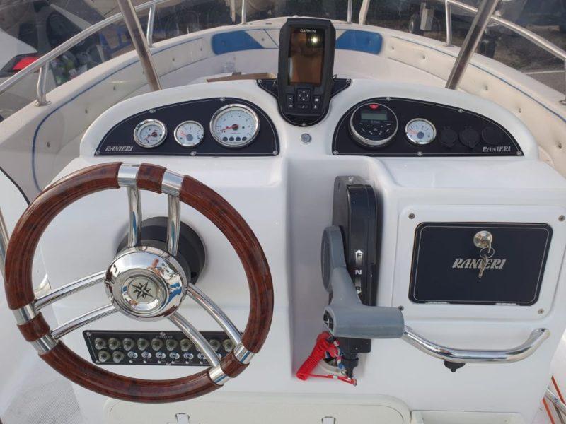 Plance barca alluminio anodizzato ranieri